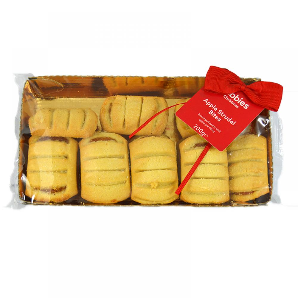 Dobbies Apple Strudel Bites 200g