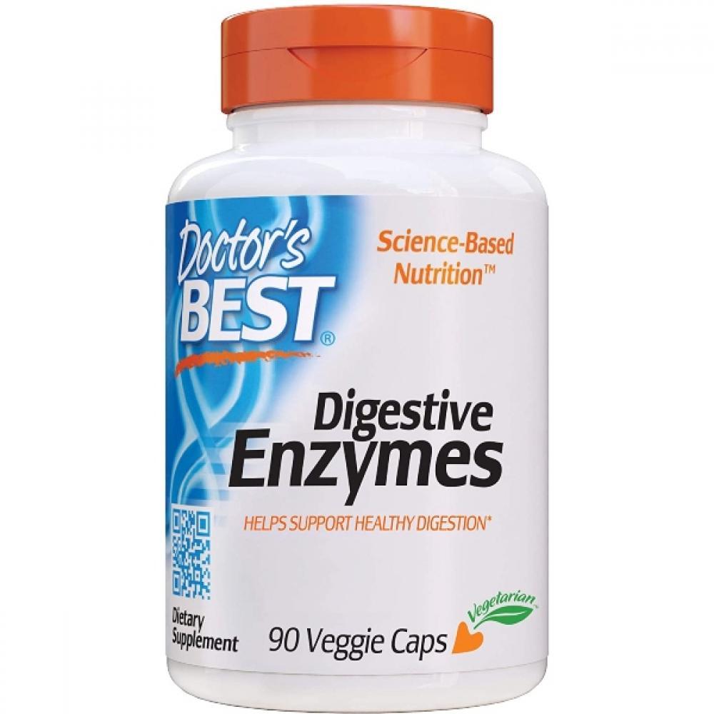 Doctors Best Digestive Enzymes 90 Veggie Caps