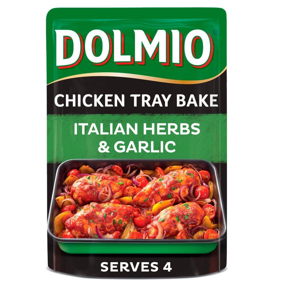 Dolmio Chicken Tray Bake Italian Herbs and Garlic 150g