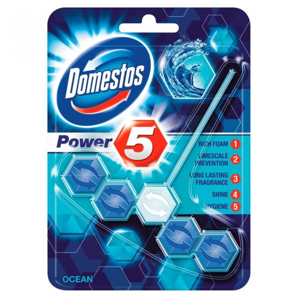 Domestos Power 5 Rim Ocean 55g
