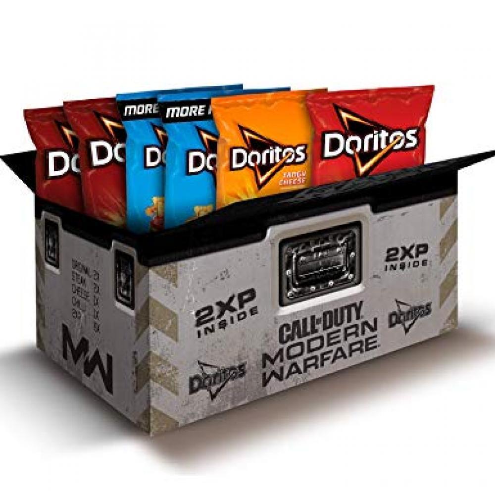 Doritos Call Of Duty Modern Warfare Snacks Box
