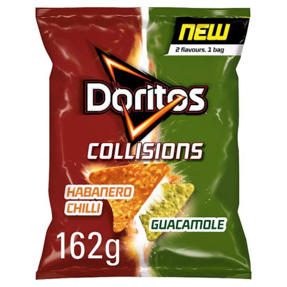 Doritos Collisions Habanero and Guacamole Tortilla Chips 162g