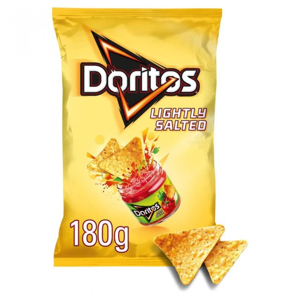 Doritos Lightly Salted Corn Chips 180g