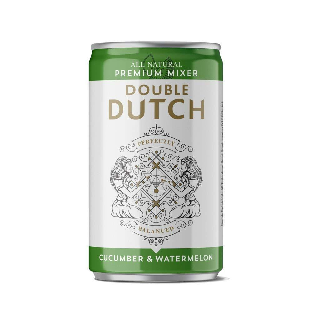 Double Dutch Ltd Tonic Water Cucumber And Watermelon 150ml