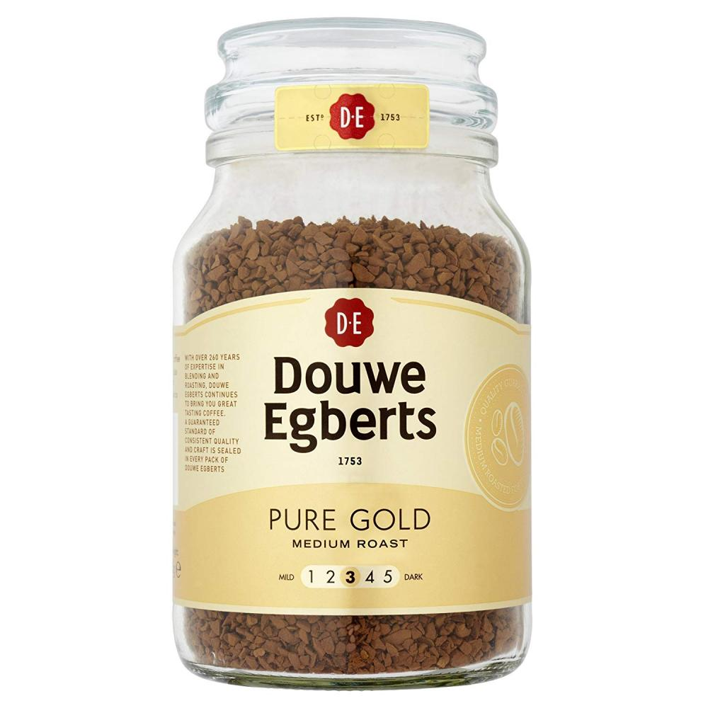 Douwe Egberts Pure Gold Instant Coffee 190g