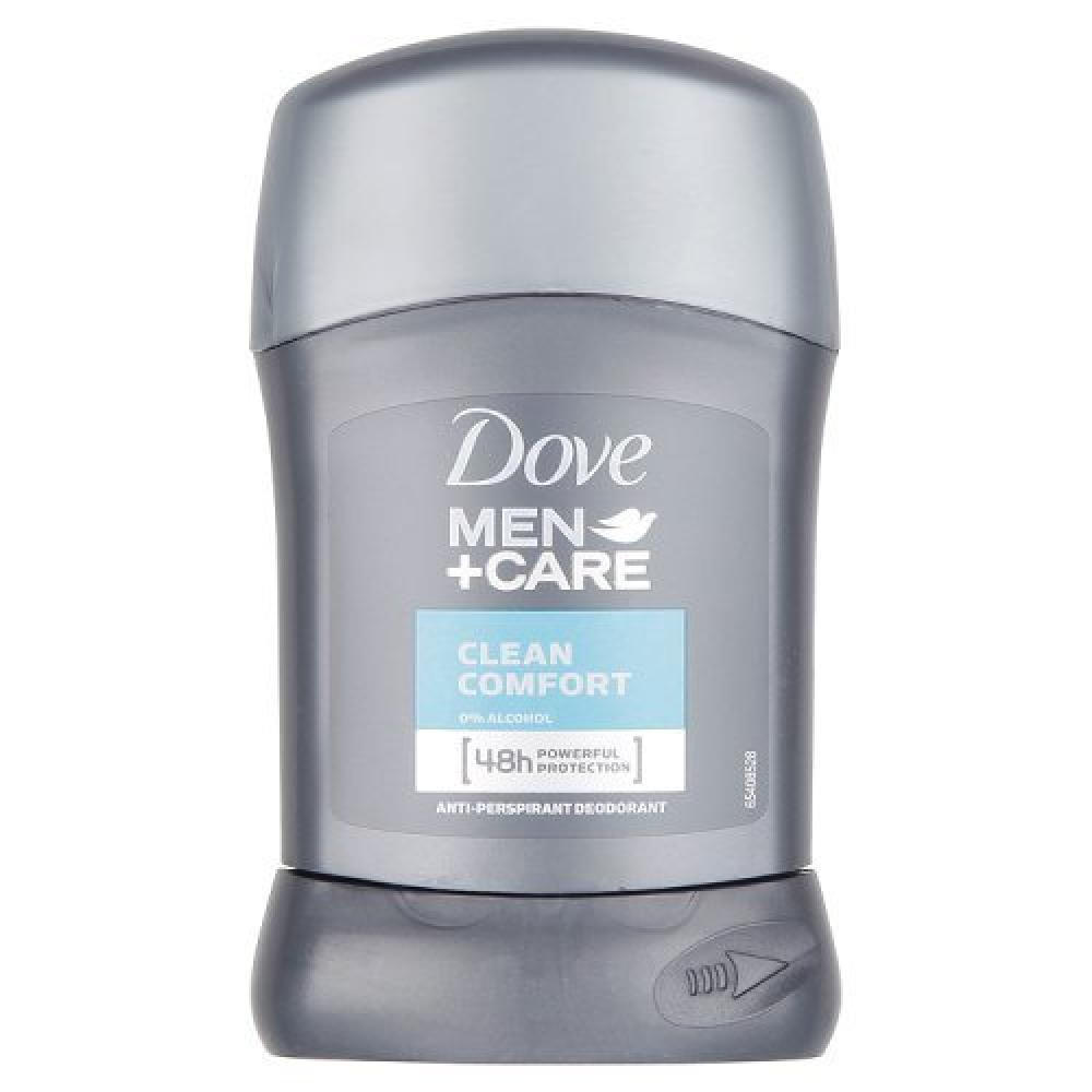 Dove Men plus Care Clean Comfort Anti-perspirant Deodorant Stick 50ml