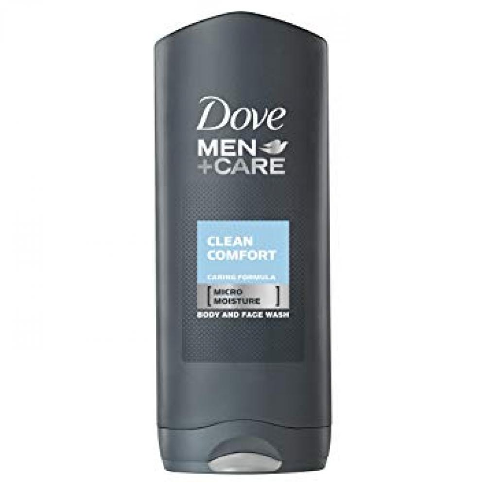 Dove Men plus Care Clean Comfort Body and Face Wash 400ml
