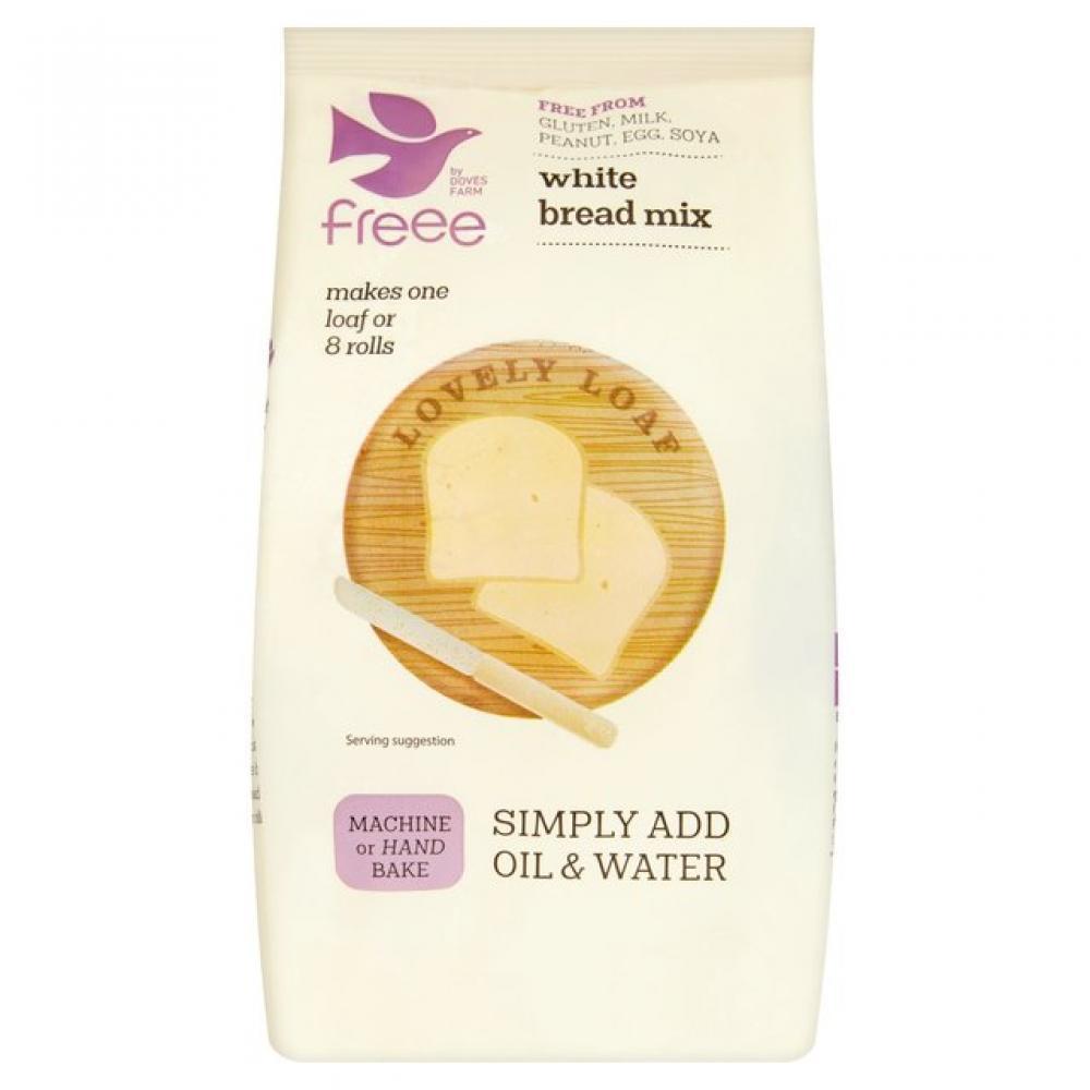 Doves Farm Freee White Bread Mix 500g