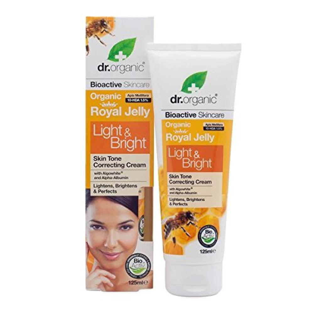 Dr Organic Royal Jelly Body Skin Whitening Cream 125ml