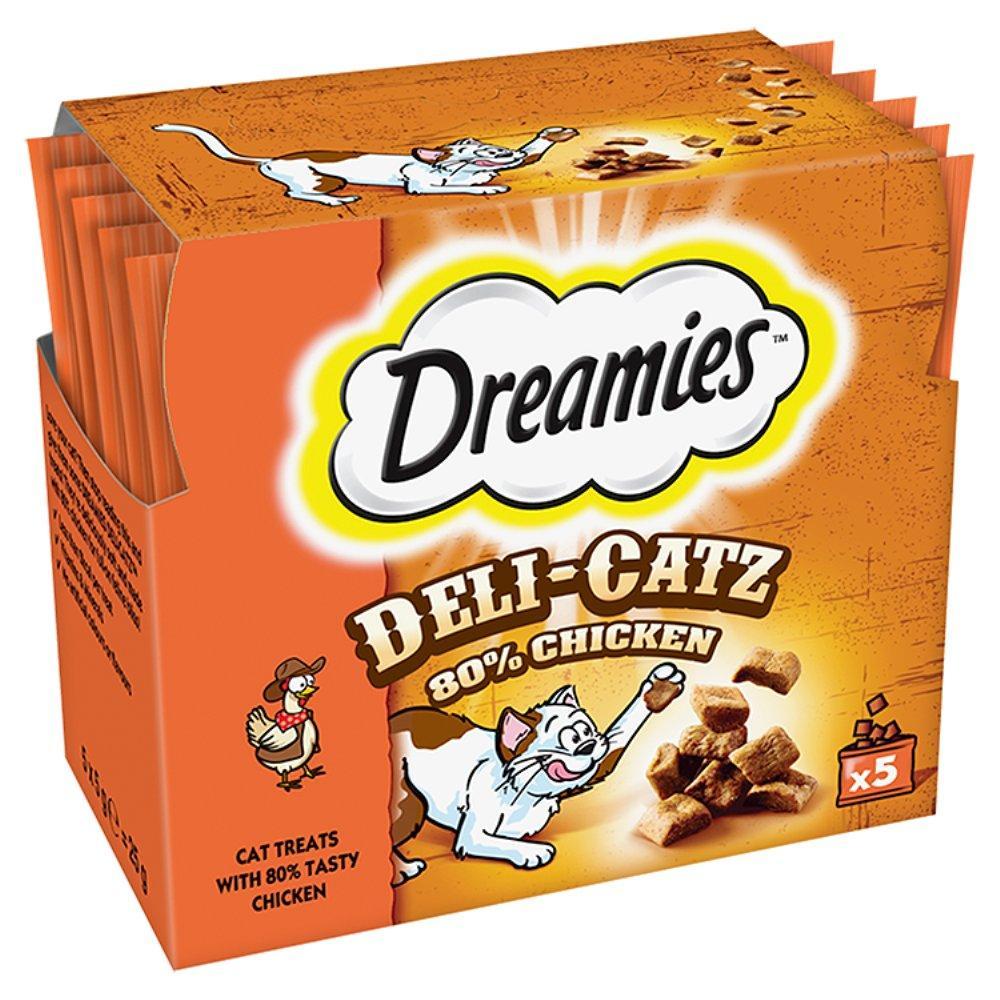 Dreamies Delicatz Chicken 5g x 5
