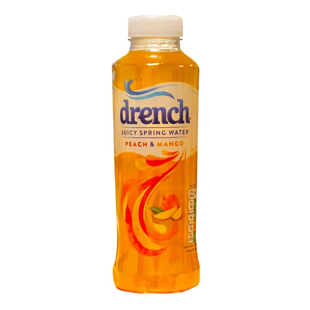 Drench Juicy Spring Water Peach and Mango 400ml
