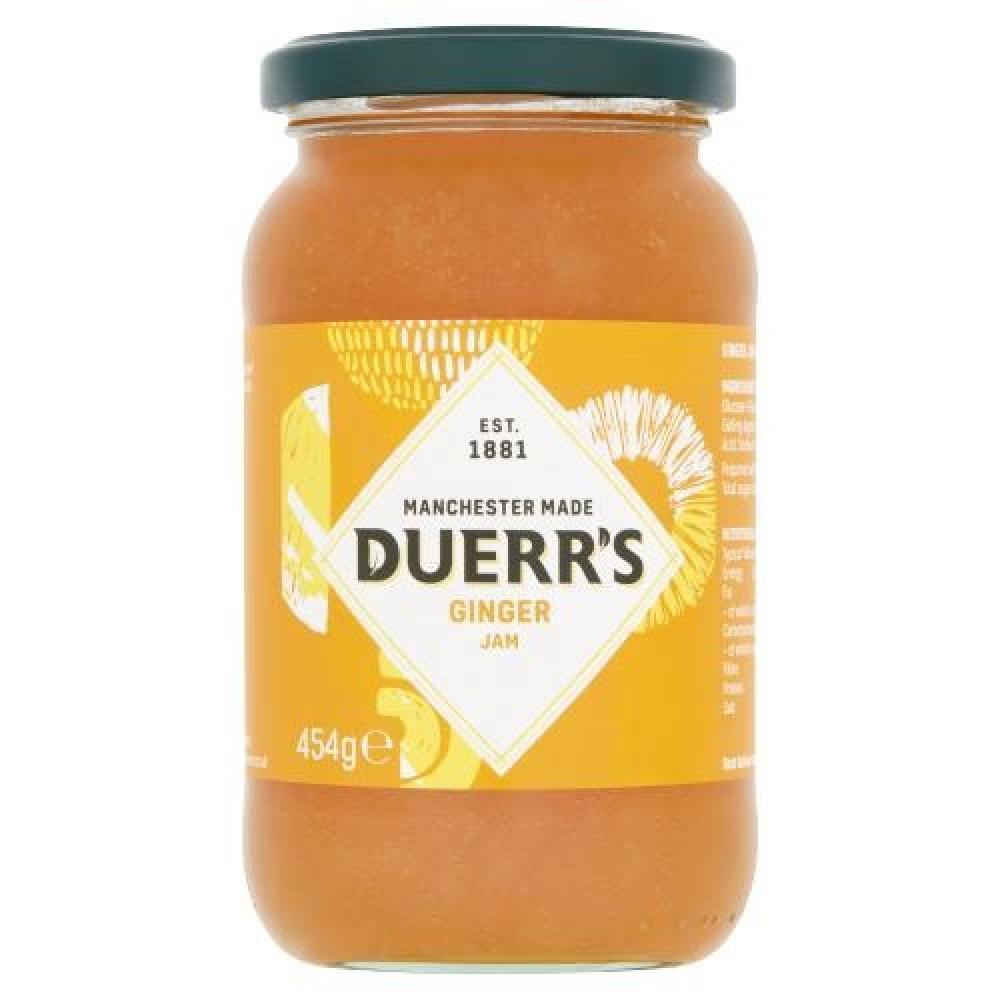Duerrs Ginger Jam 454g