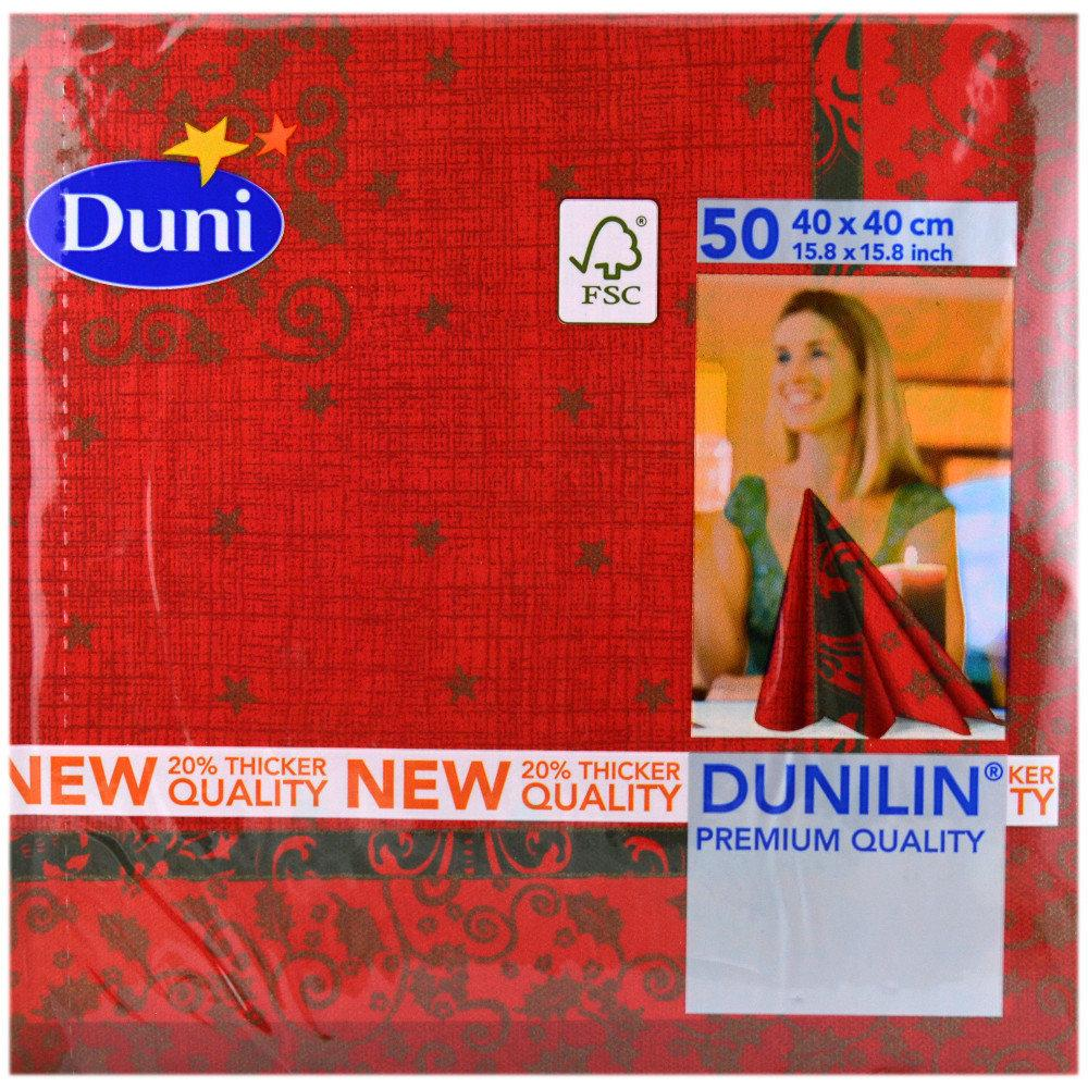 Dunilin Christmas Dreams Napkins 40cm x 40cm 50 pack