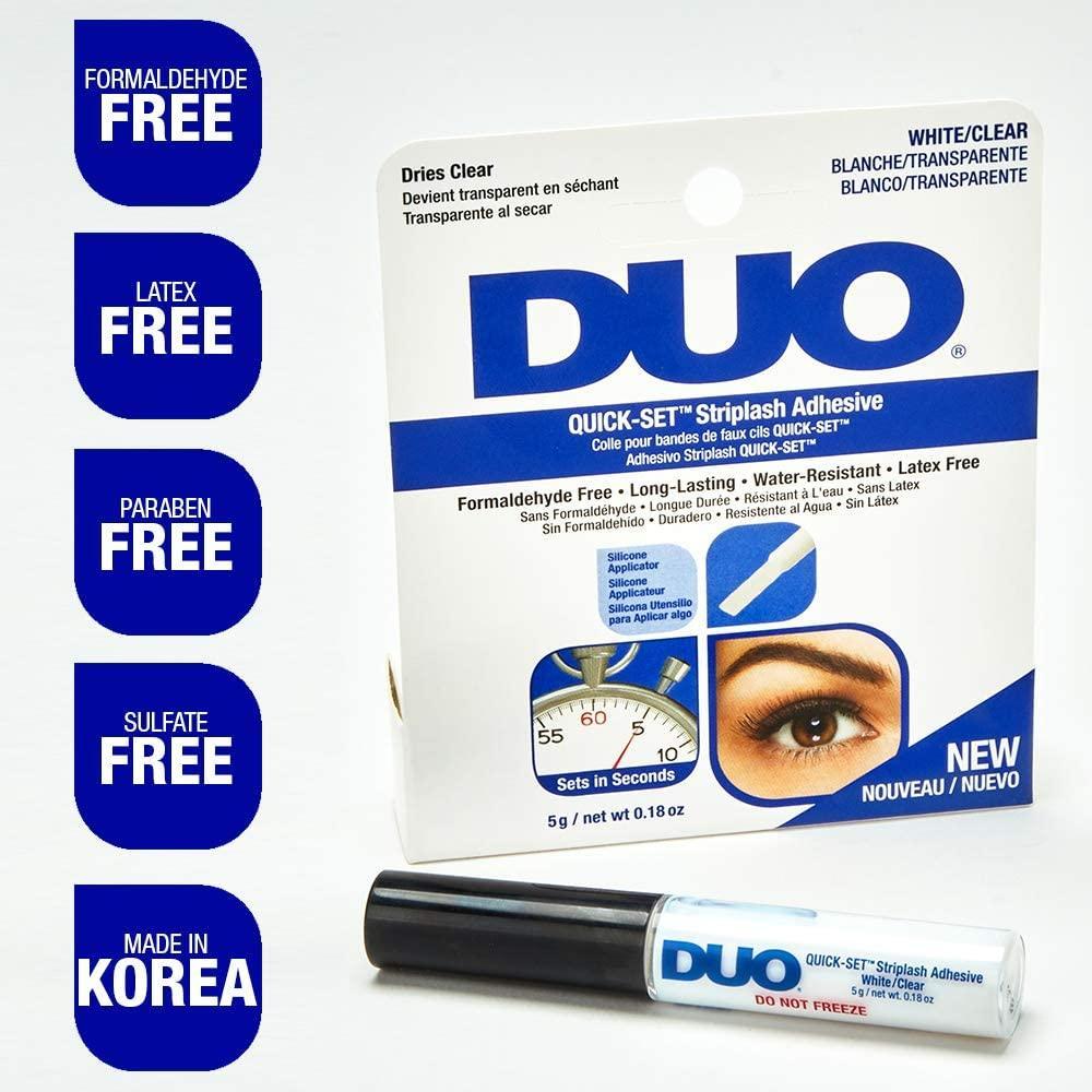 Duo Quick-Set Striplash Adhesive Clear 5g