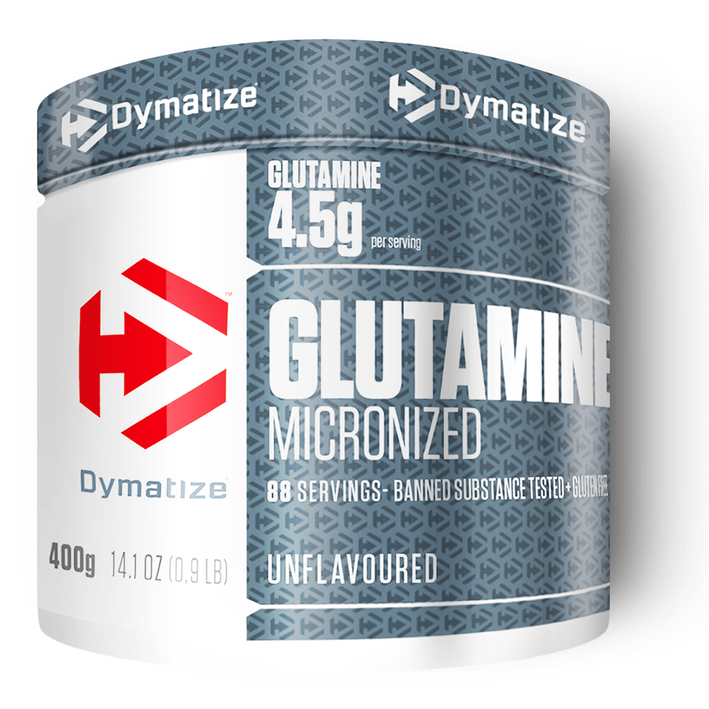 Dymatize Nutrition Glutamine Micronized Unflavoured Powder 400g