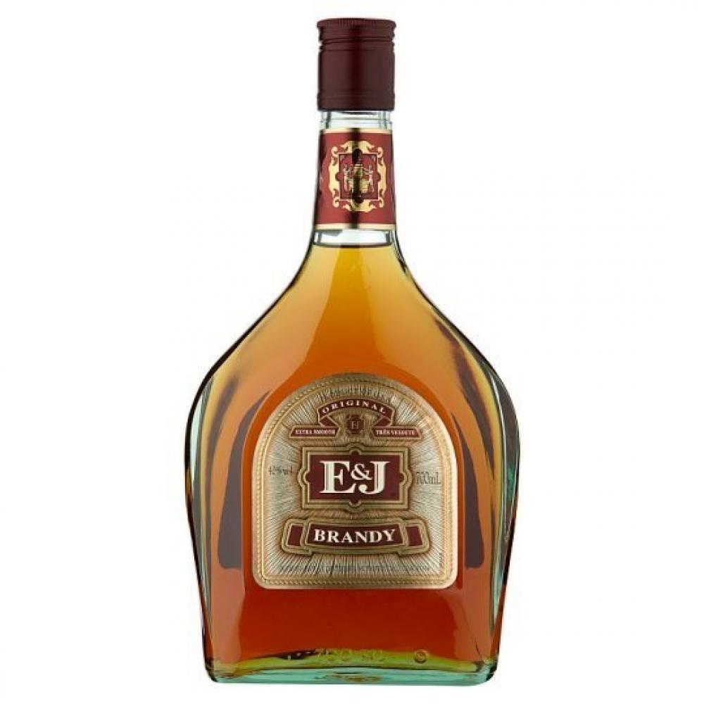 E and J Brandy 700ml