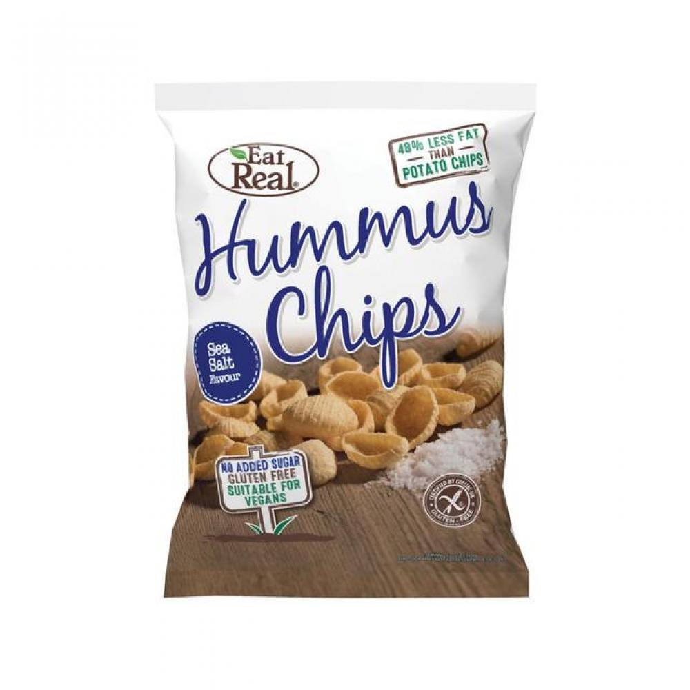 Eat Real Hummus Chips - Sea Salt Flavour 135g