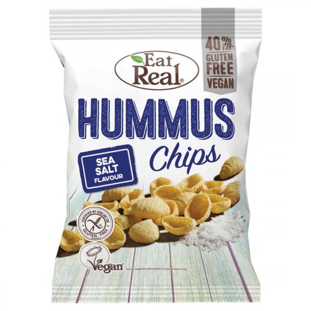 Eat Real Hummus Sea Salt Chips 45g