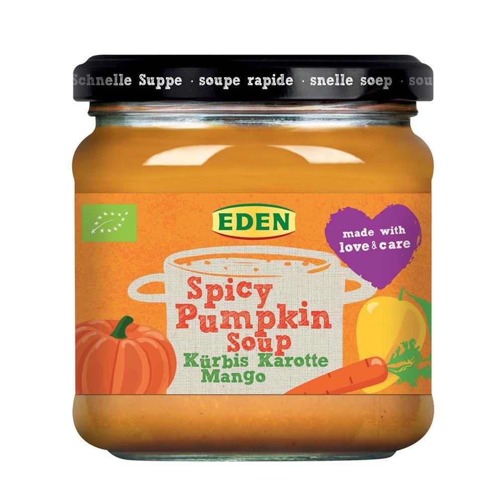 Eden Organic Spicy Pumpkin Soup 375g