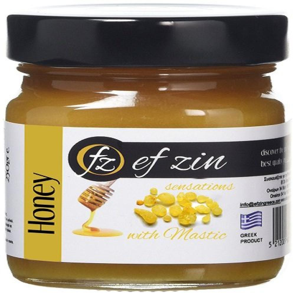 Ef Zin Greek Raw Honey with Mastic 250g