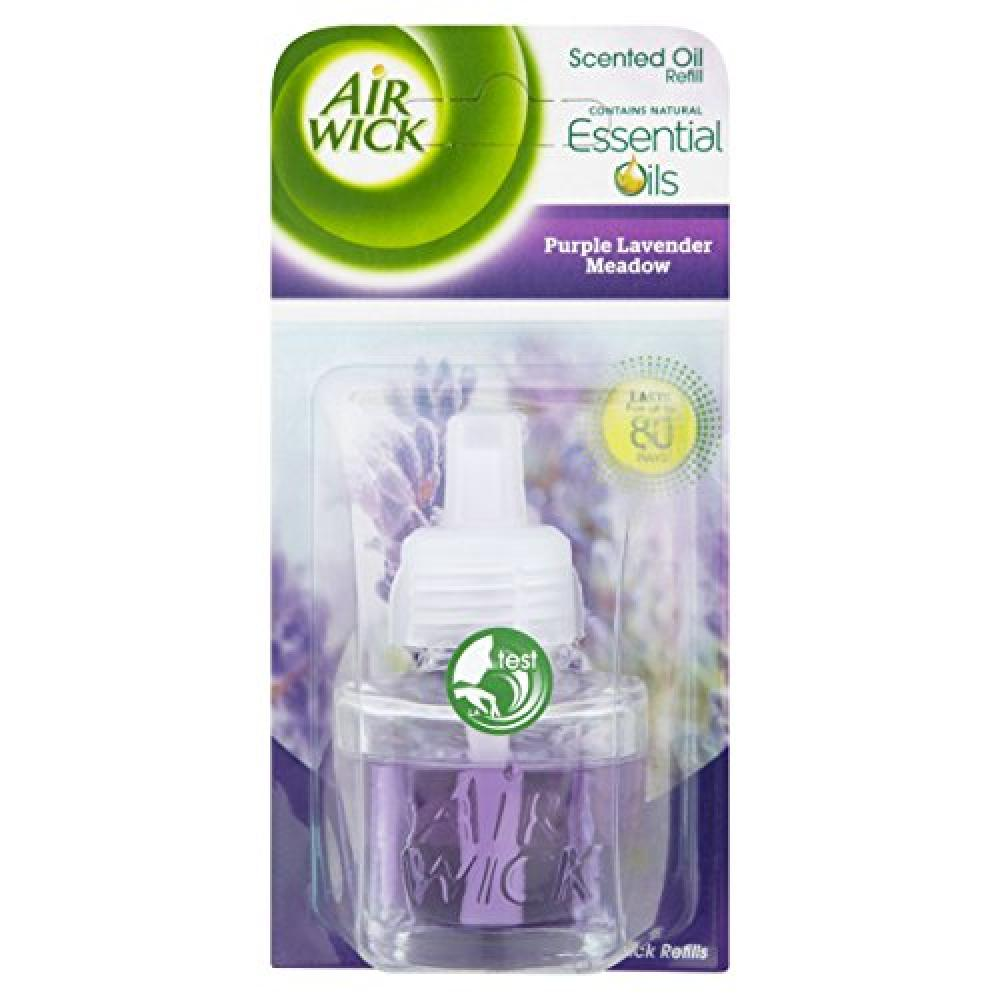 Air Wick Electrical Plug In Air Freshener Refill Lavender 17ml