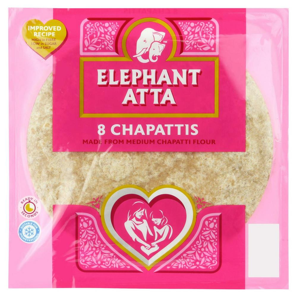 Elephant Atta 8 Chapattis 360g