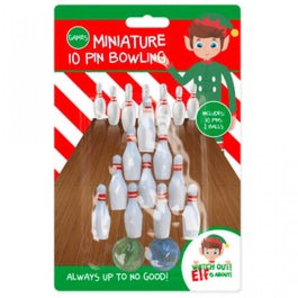 elf Miniature 10 Pin Bowling