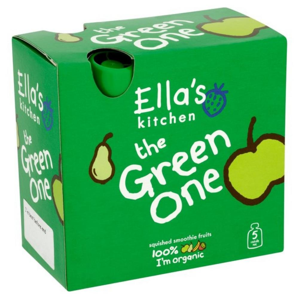 Ellas Kitchen The Green One Organic Smoothie 90g x 5