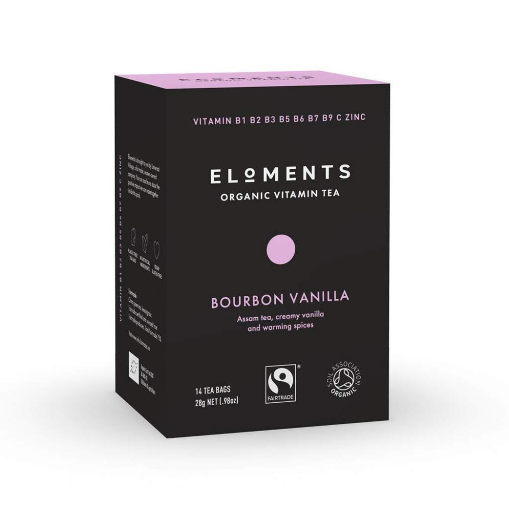 Eloments Organic Bourbon Vanilla Vitamin Tea 28g