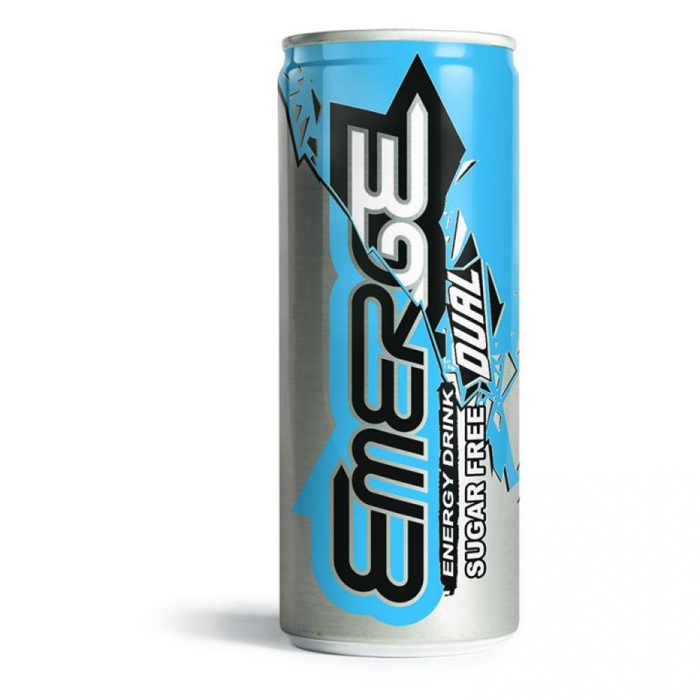 Emerge Energy Drink Sugar Free Dual 250ml