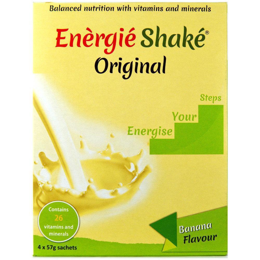 Energie Shake Original Banana Flavour 57g x 4