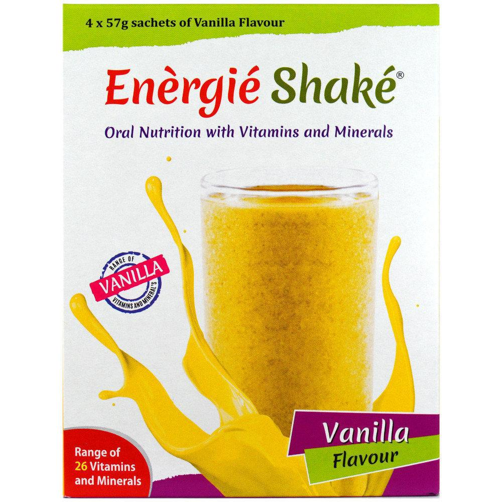 WEEKLY DEAL  Energie Shake Vanilla Flavour 57g x 4