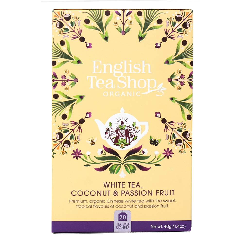 English Tea Shop White Tea With Coconut And Passion Fruit 40 g