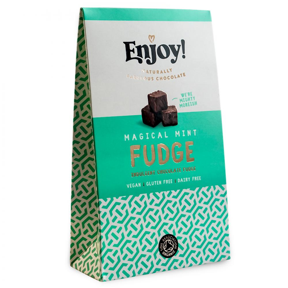 Enjoy Raw Chocolate Magical Mint Fudge 100g