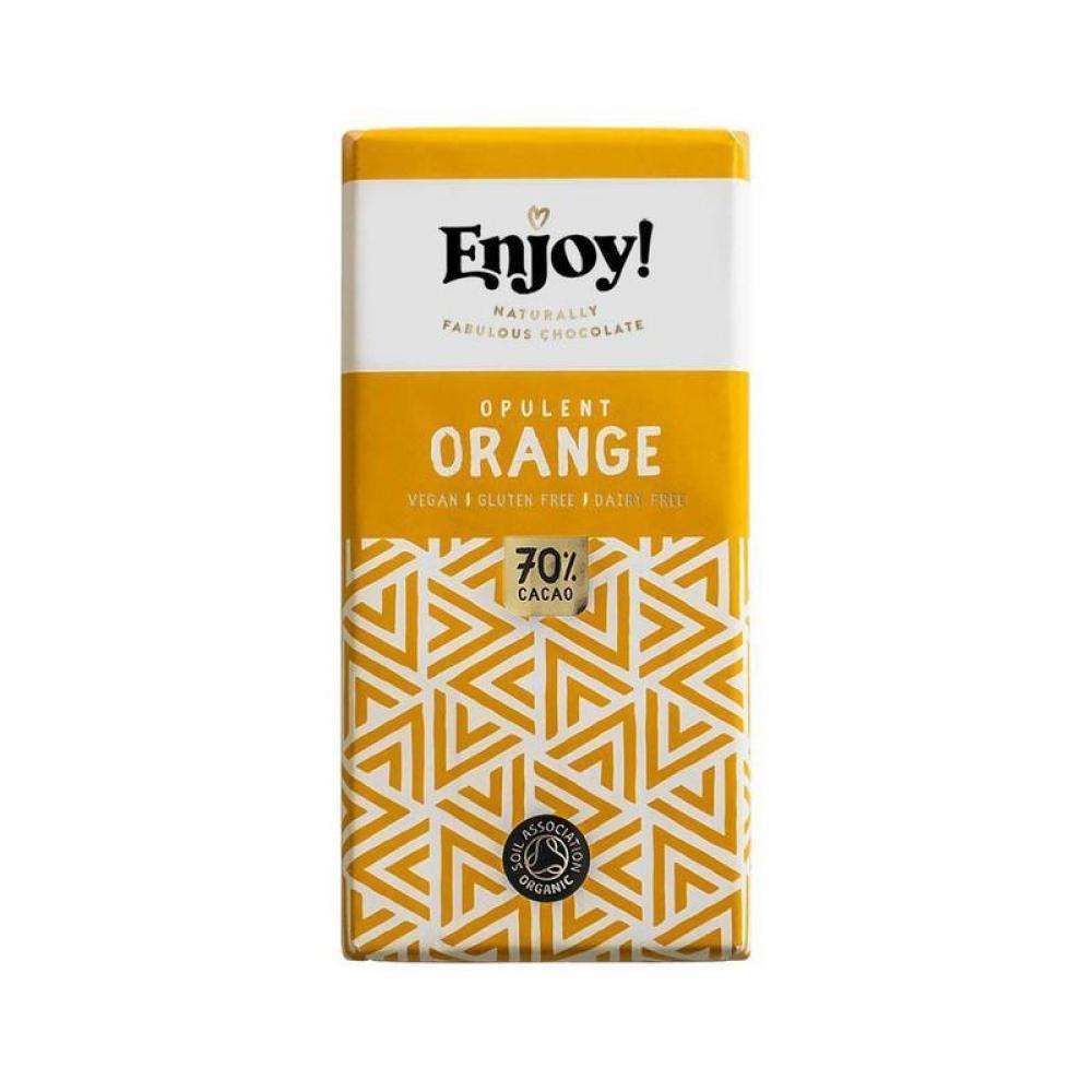 Enjoy Raw Chocolate Opulent Orange 35g