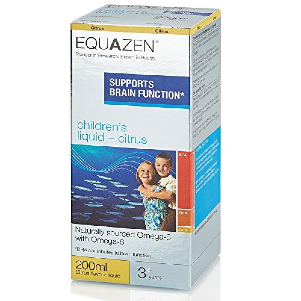 Equazen Childrens Liquid Citrus 200ml