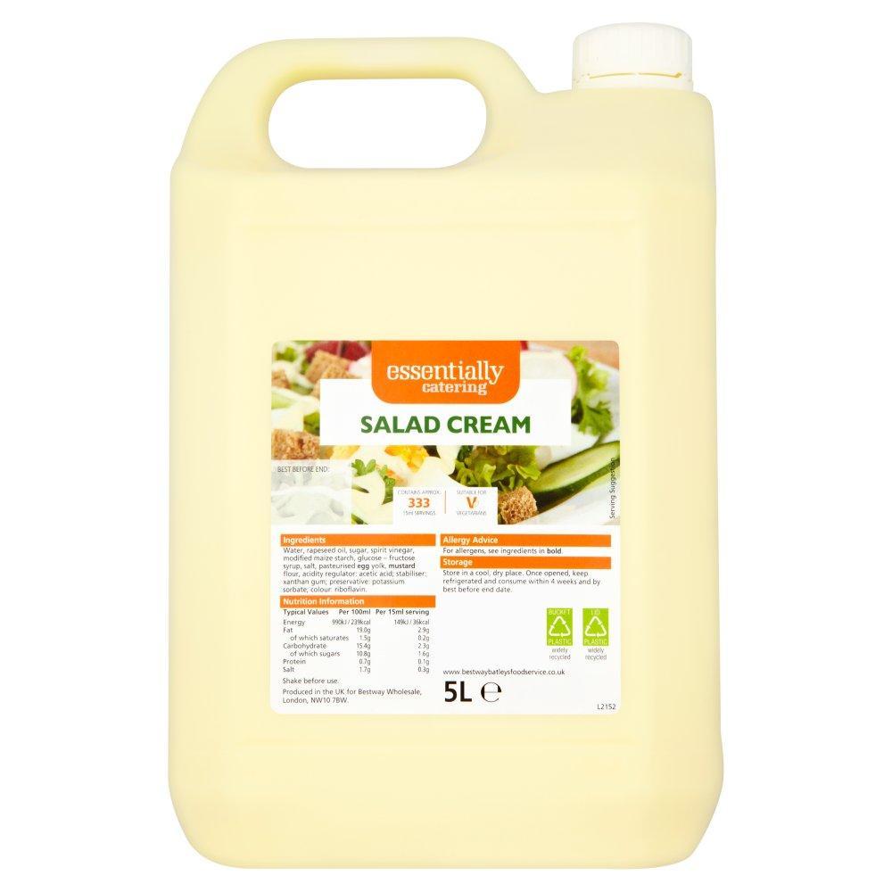 Essentially Catering Salad Cream 5 Litre