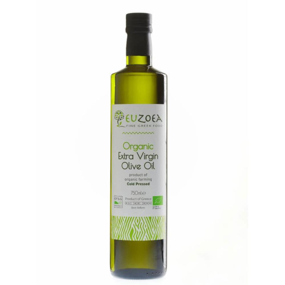 Euzoea Organic Extra Virgin Olive Oil 750ml