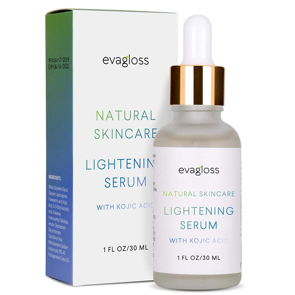 Evagloss Skin Lightening Serum with Kojic Acid 30 ml