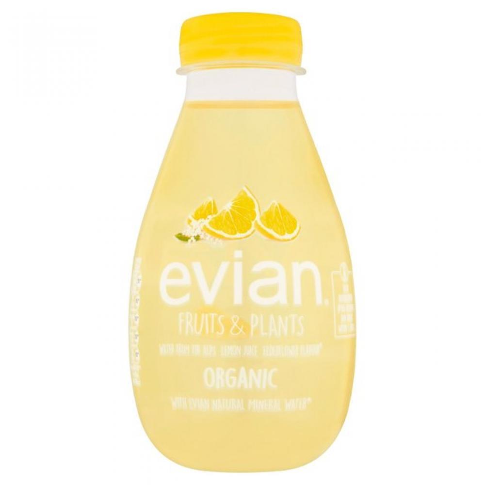 Evian Fruits and Plants Lemon and Elderflower 370ml