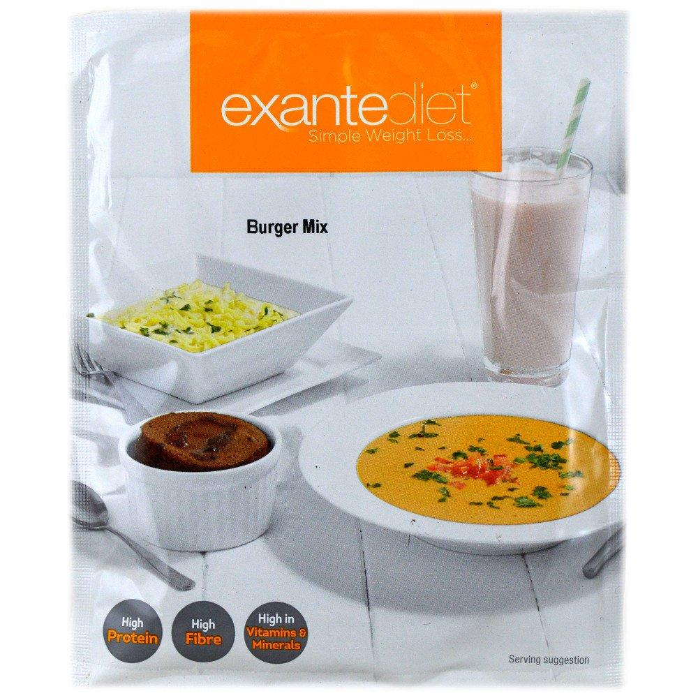 Exante Diet Burger Mix 57g