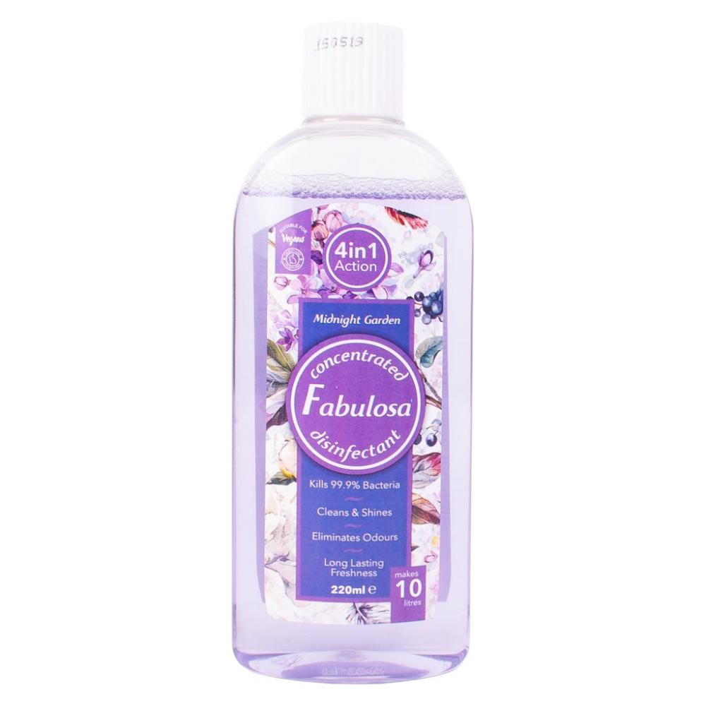 Fabulosa Concentrated Disinfectant Midnight Garden 220ml