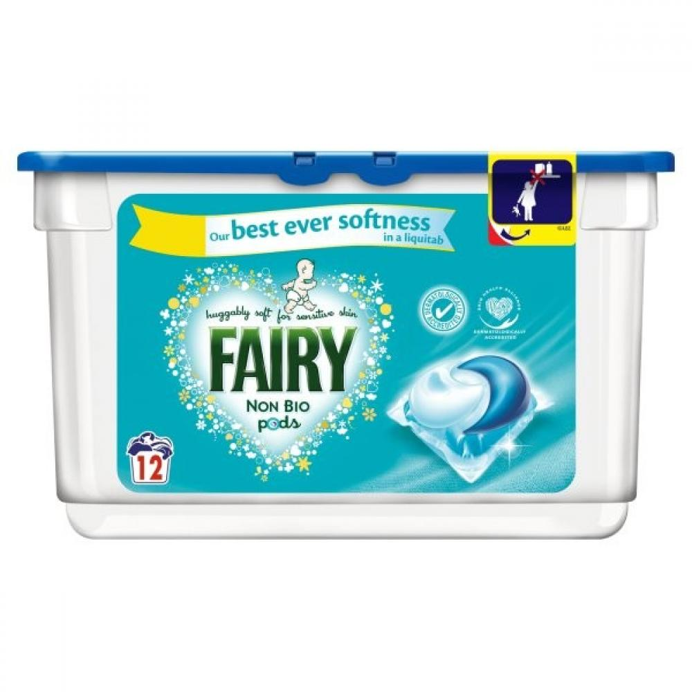 Fairy Non Bio Pods 12 pack