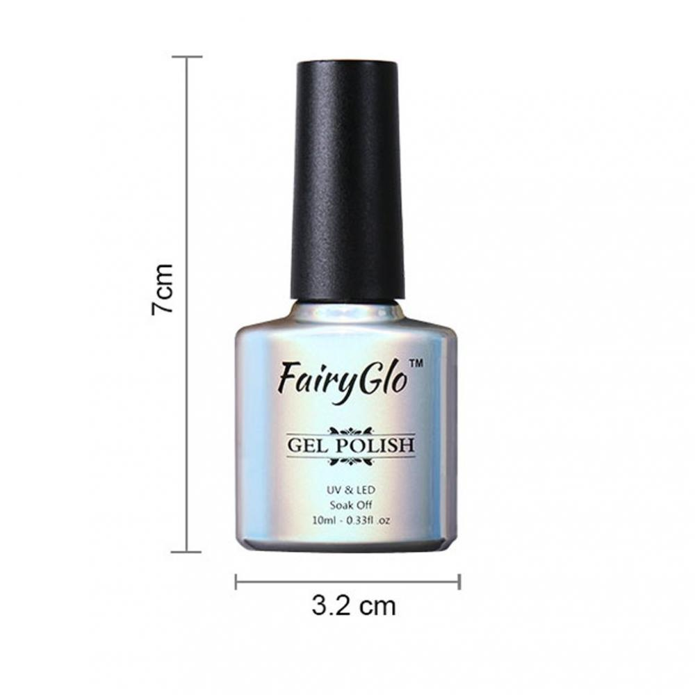 Fairyglo Nude Gel Nail Polish Uv Led 10 Ml Approved Food