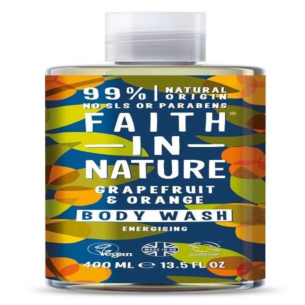 Faith In Nature Grapefruit and Orange Body Wash 400ml
