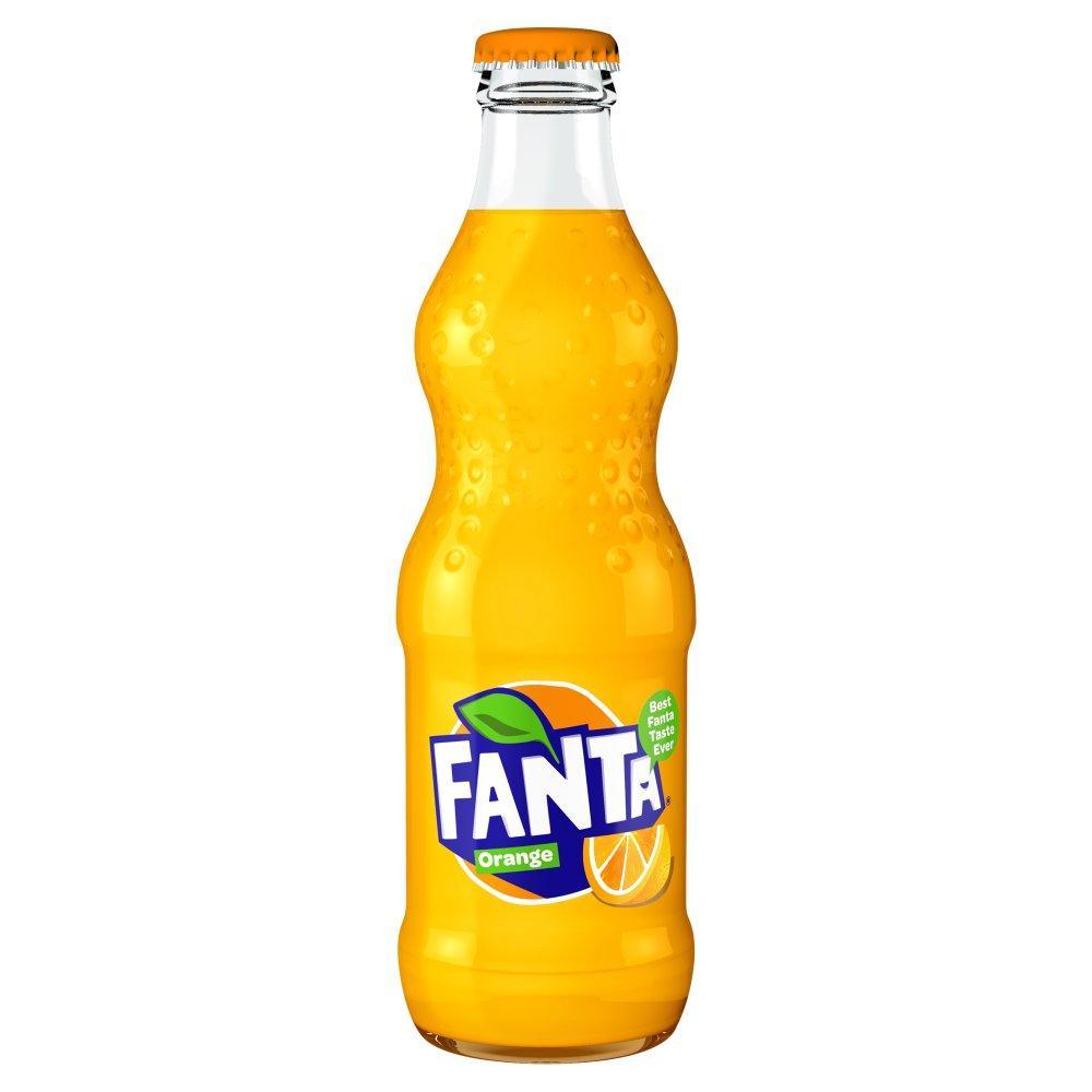 Fanta Orange Glass Bottle 330ml