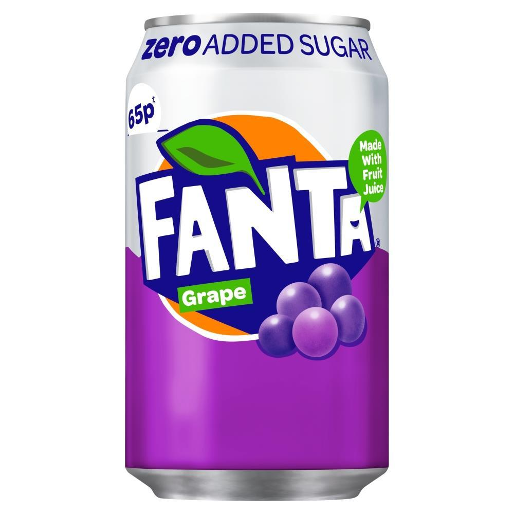 Fanta Zero Grape 330ml