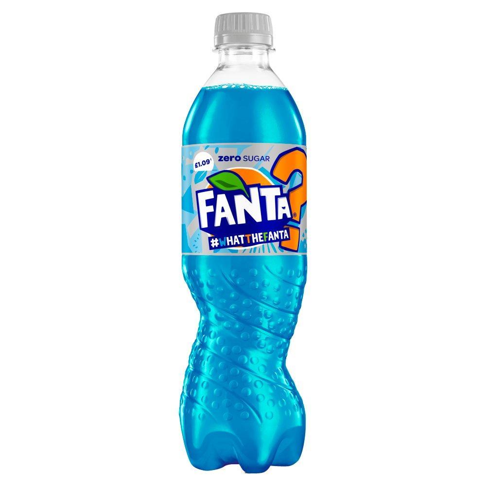 Fanta Zero What The Fanta 500ml
