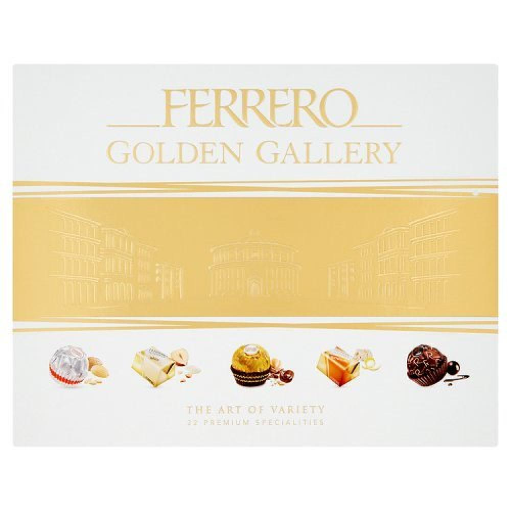 Ferrero Golden Gallery 22 Piece Assortment 216g Damaged Box