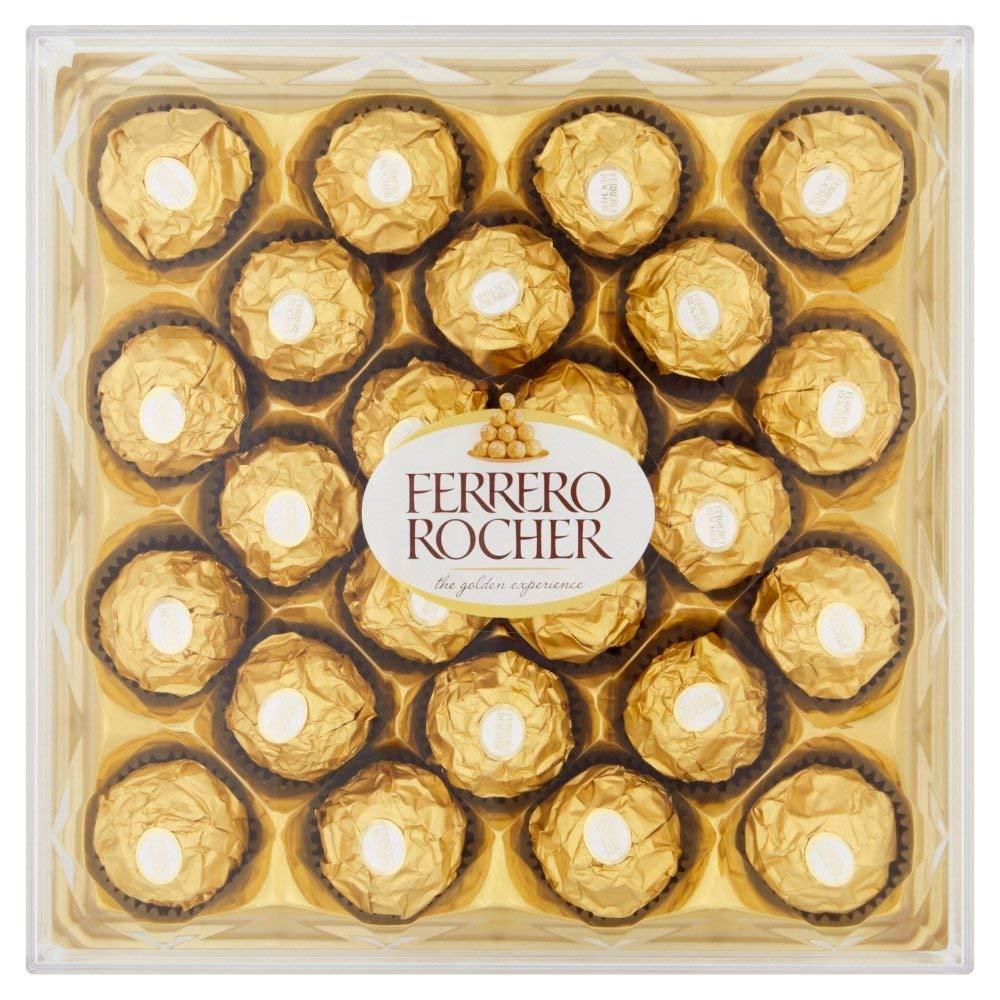 Ferrero Rocher 24 Pieces Damaged Box